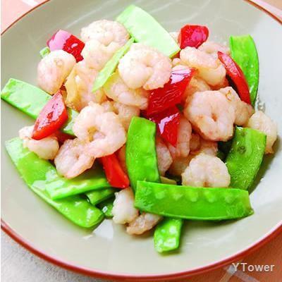 清炒蝦仁食譜 - 甲殼類料理 - 楊桃美食網 專業食譜