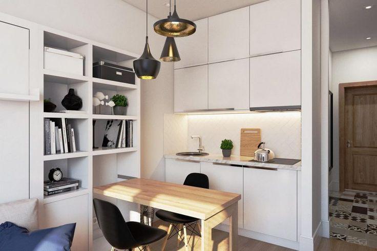 Leválasztott 19m2-ből önálló kis lakás modern stílusban, praktikusan, helytakarékosan