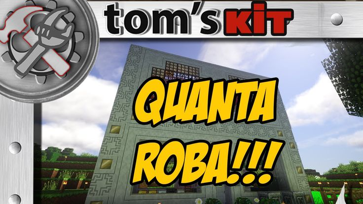 Minecraft ITA : QUANTA ROBA !!! - Tom's Kit #02