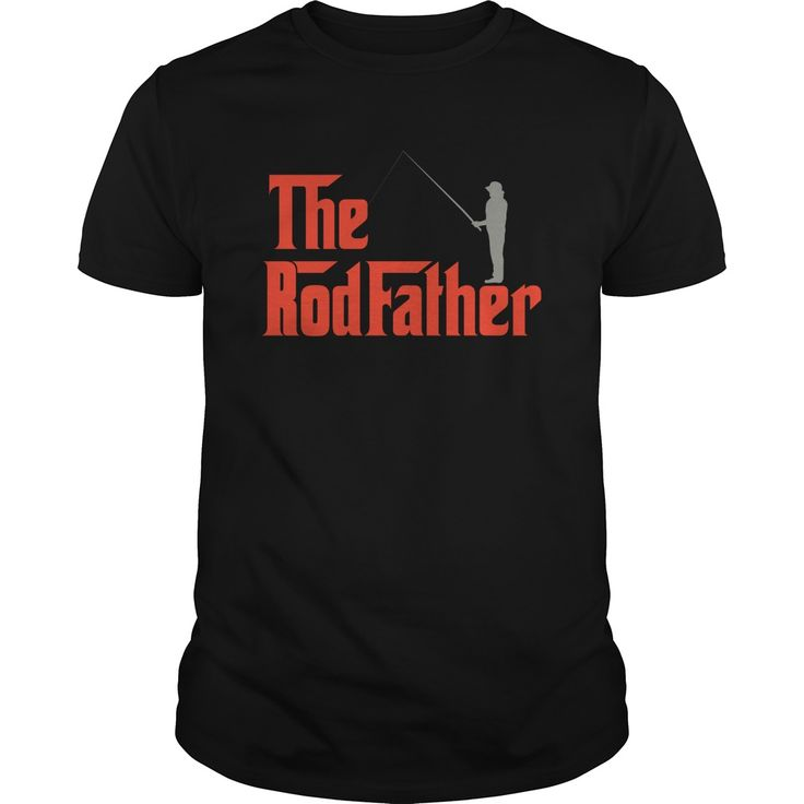 The Rod Father Great Gift For Any Fishing Funny Men. Funny Sayings, Quotes, T-Shirts, Hoodies, Adult Humour Tees, Hats, Clothes, Coffee Cup Mugs, Gifts.