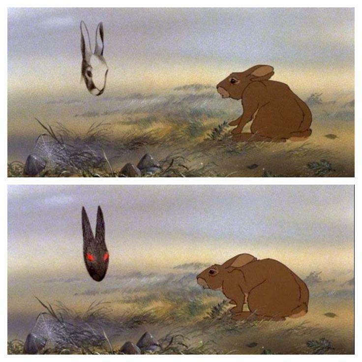 Hazel meets the Black Rabbit of Inlé