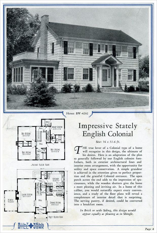 Bilt Well Catalog No 42 Colonial