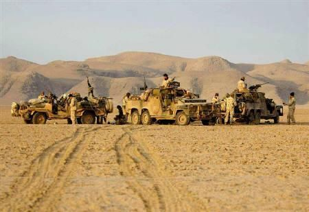 Australian special forces soldiers operating in southern Afghanistan.