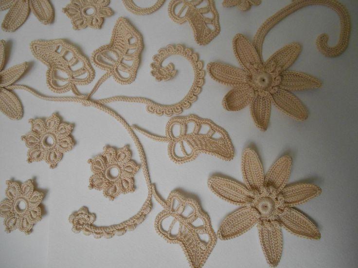 #Crochet#motifscrochet#knitting#Irish lace#knitting#irishcrochet