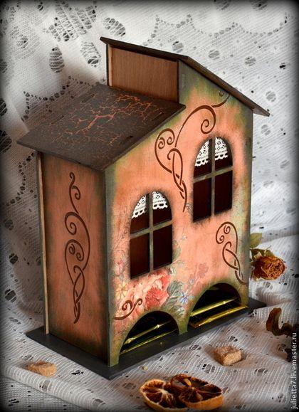 """Кухня ручной работы. Ярмарка Мастеров - ручная работа Чайный домик """"Взгляд в прошлое"""". Handmade."""