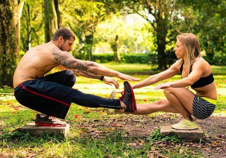 7 casais fitness que vão incentivar você a malhar em dupla