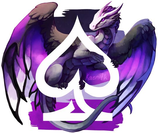 This week's pride dragon is for asexual pride!The finished pieces of this series-in-progress can be found here, and the to-do list is here.This design is also available on TeePublic and Redbubble.