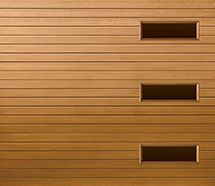 Wood Garage Doors With Windows 30 best garage doors - faux wood finish images on pinterest