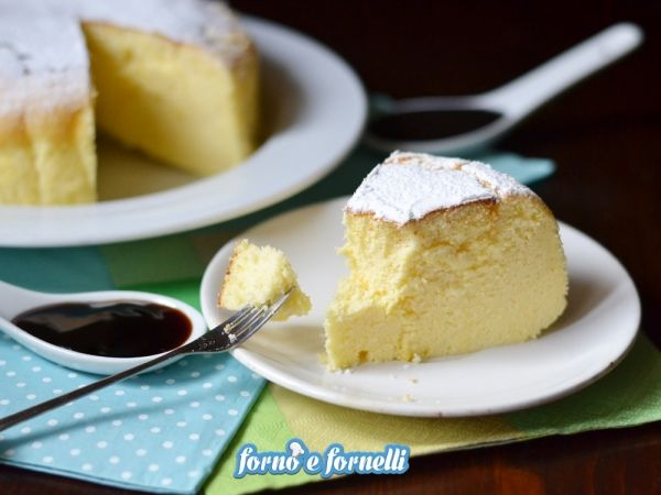 Cotton cake cheesecake giapponese