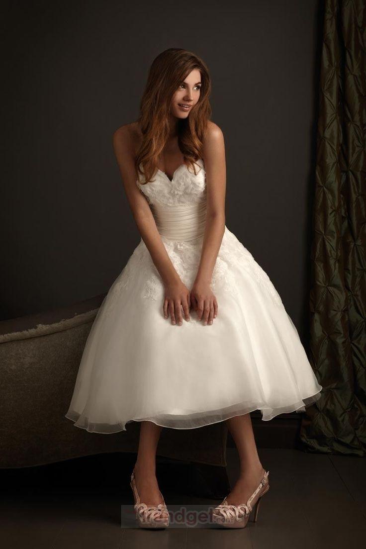 521 besten Wedding Gowns | Tea & Ballerina Length Bilder auf ...