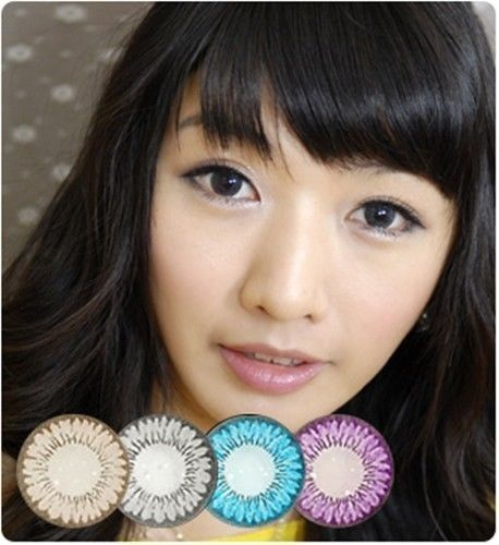 [GLAM EYE] TWO TONE VIOLET  - COLOR CONTACT CIRCLE LENS [NON PRESCRIPTION LENSES] No.N021