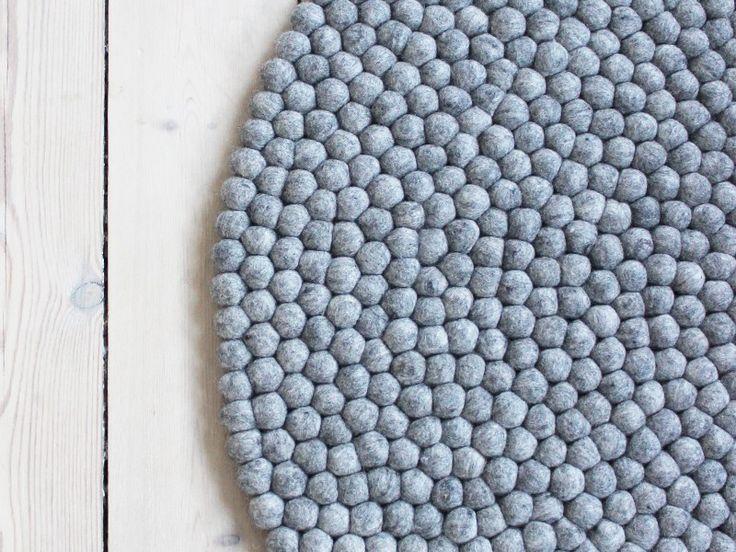 Steel Grey - Kugletæpper