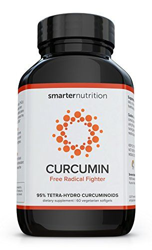 Curcumin by Smarter Nutrition – Potency and Absorption in a SoftGel (7 Month Supply)