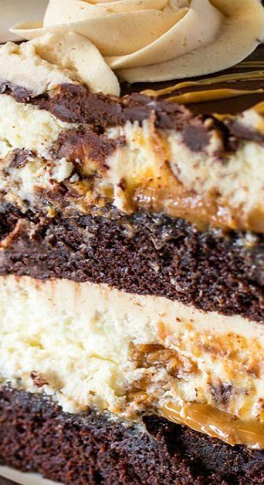 Copycat #cheesecake Factory Reese's Peanut Butter Chocolate Cake Cheesecake