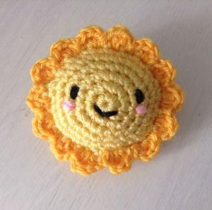 Suny le soleil  amigurumi patron facile crochet en français (free pattern)                                                                                                                                                                                 Plus