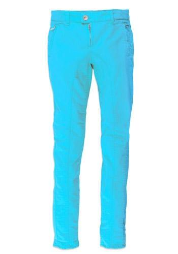 Jeans turchese fluo, Haikure