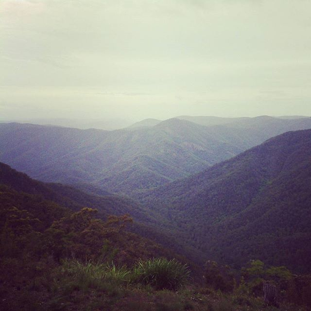 Gibraltar Range National Park. Looking out over the Nymboida and Mann rivers…