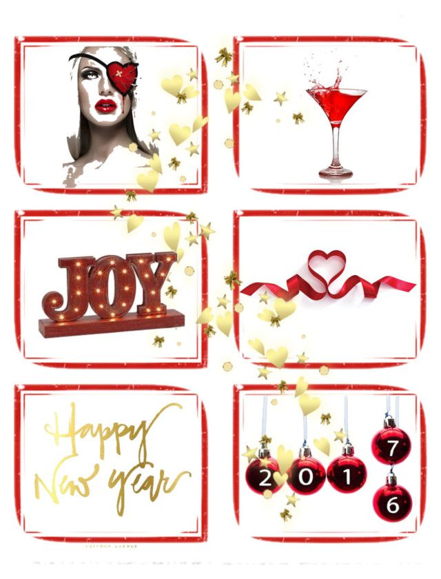 """""""Happy new year'17"""" by sky31-1 on Polyvore featuring art"""
