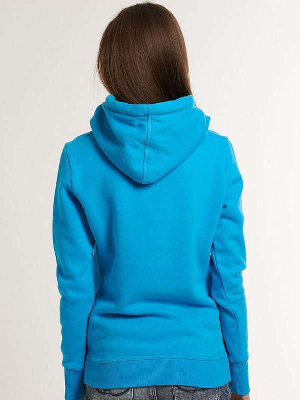 Fashion Solid Color Long Sleeve Casual Women's Hoodie