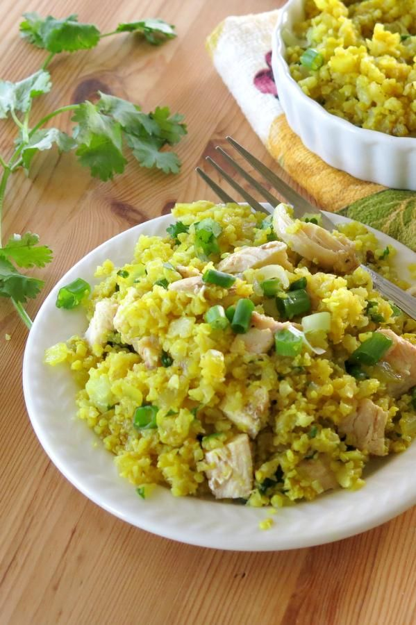 Curried Cauliflower Rice takes less than 15 minutes to prepare and is ready in even less time when you follow our tip for freezing cauliflower rice. Add chicken, shrimp or your protein of choice and you have a meal in minutes!
