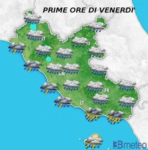 Clima: #METEO #LAZIO: #maltempo dalla serata rischio FORTI TEMPORALI (link: http://ift.tt/2dUWF1E )
