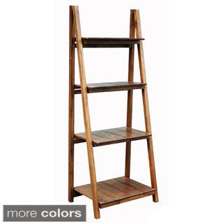 Manhasset Slatted 4-shelf Folding Bookcase on overstock.com
