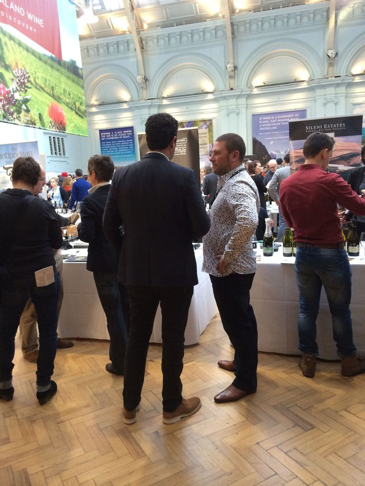 The team is repping our award-winning wines at the NZ Wine Trade Tastings in London this week, and things are looking good.