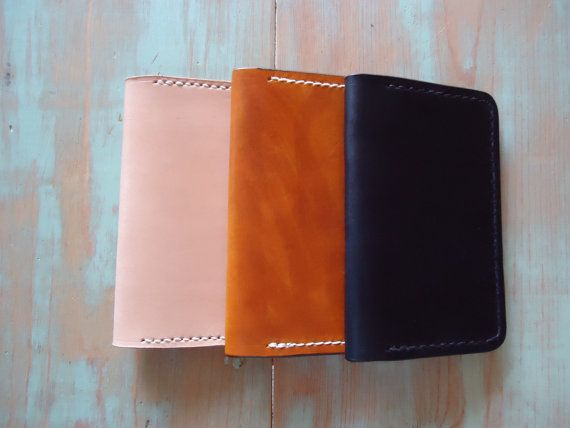 Field Notes Notebook Cover / Wallet / Credit Card by OfMudandCoal, $55.00