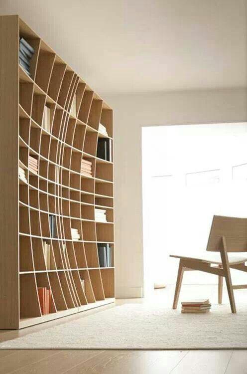 La bibliothèque, ou l'art de sublimer son salon (20 photos)