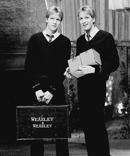 Fred and George  - harry-potter Fan Art