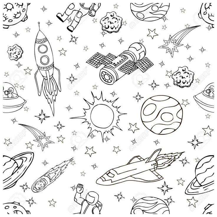 Výsledek obrázku pro raketa kreslená