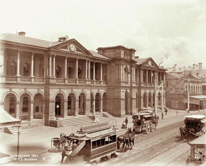 General Post Office, Queen Street, Brisbane, 1897