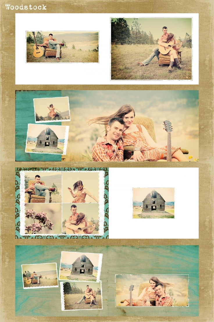 Wood Stock Custom Photo Book Design Sample