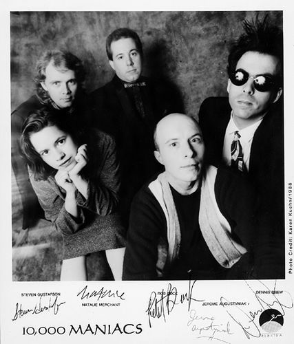 10,000 Maniacs - A dear friend treated me to see them for our HS Graduation present. It was '89, and Tim Finn opened. :-)
