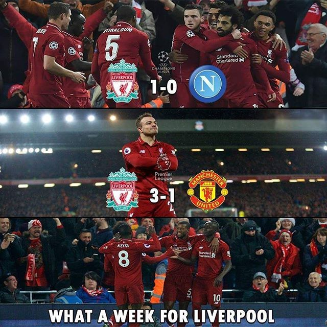 What A Week For Liverpool Liverpool Memes League Memes Football Memes