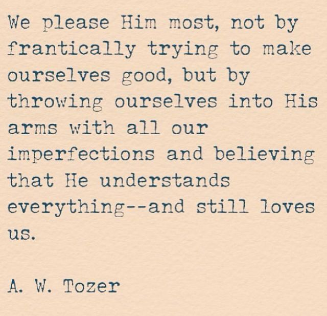 A.W. Tozer | Trust Without Borders