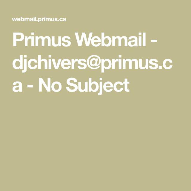 primus.ca webmail