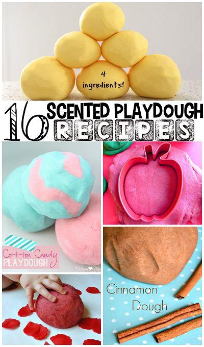 Fun Scented Playdough Recipes for Kids to Make! | CraftyMorning.com