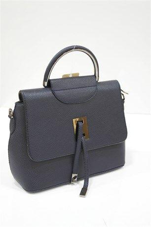 Çapraz Kullanımlı Çanta - Lacivert - Can Bag çanta modelleri, sırt çantası, yılan derisi, tutmalı çanta, çanta markaala.com.tr #moda #fashion #diy #tesettür #çanta