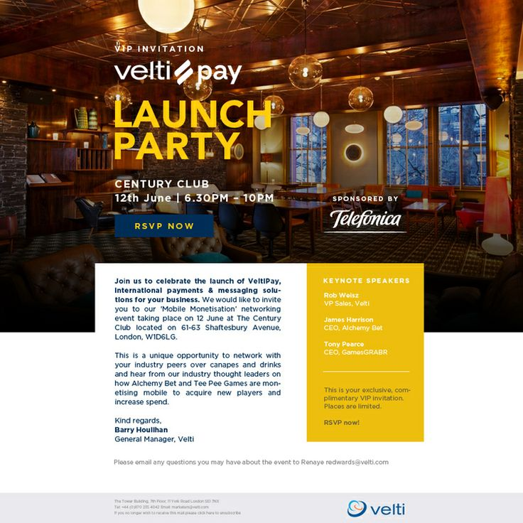 invitation wording for networking event%0A Velti Pay Launch Party Invitation