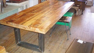 diy barn wood farm table