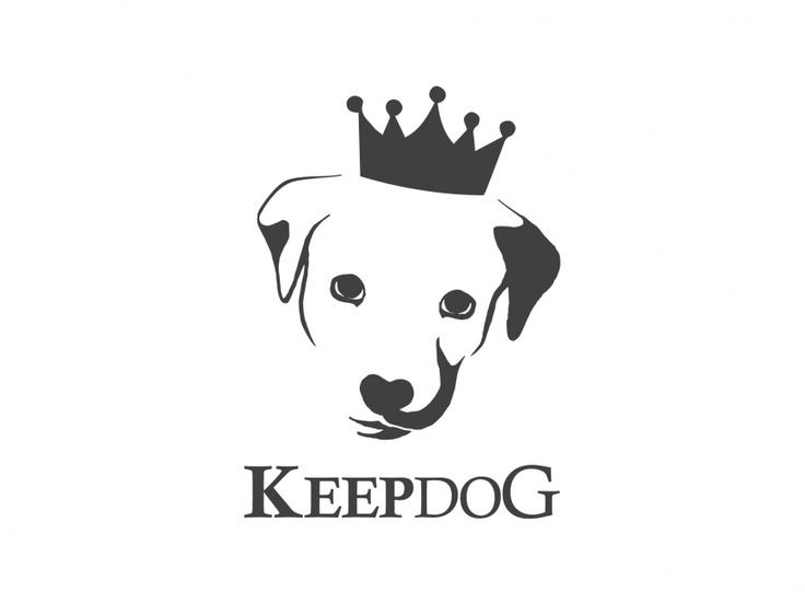 Keep Dog Vector Logo