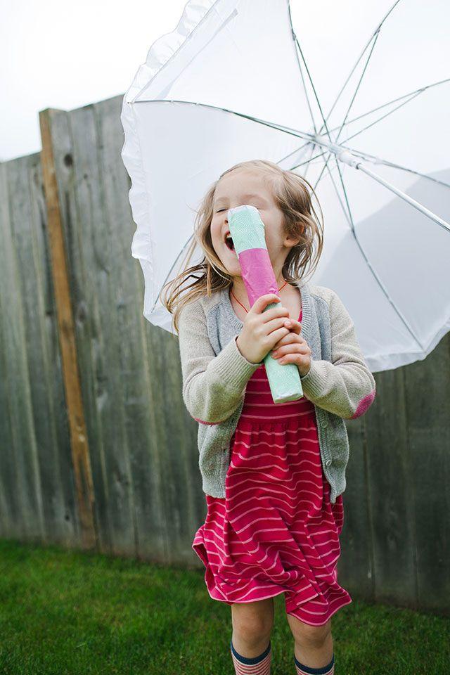 simple KIDS craft : rain makers
