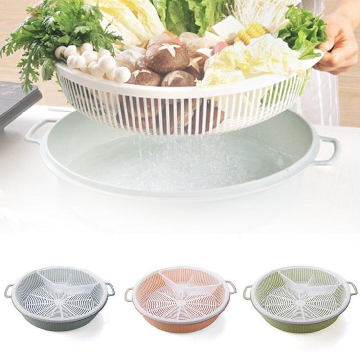 check discount kitchen food drain basket storage box washing tools for kitchen vegetables storage #vegetable #boxes
