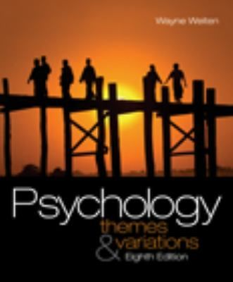 Psychology: Themes and Variations, 8th Edition