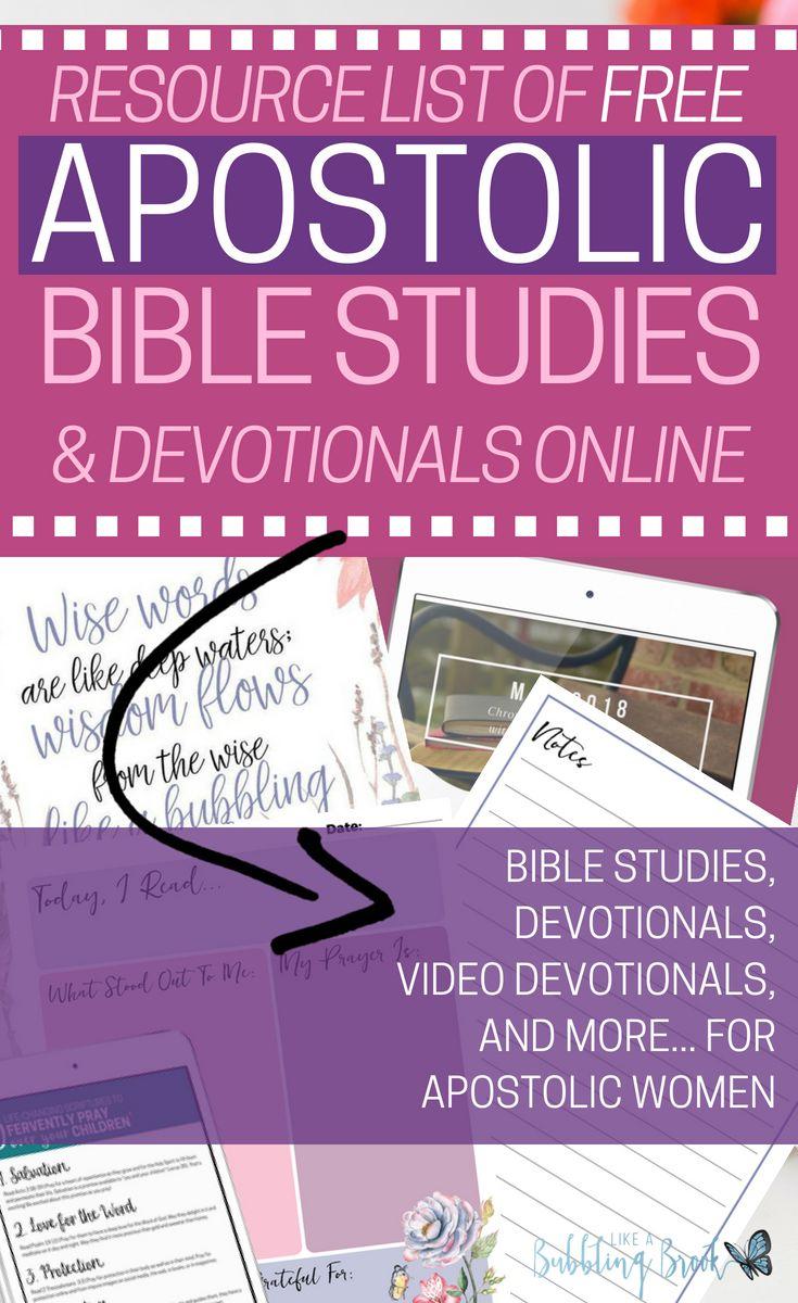 Bible Study | Free Bible Study | Free Apostolic Sermons