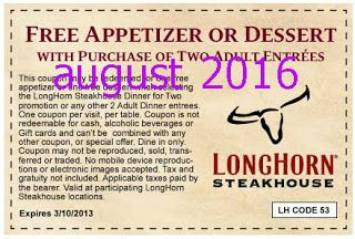 photograph relating to Longhorn Coupons Printable named Longhorn discount coupons free of charge appetizer - 6 02 coupon codes