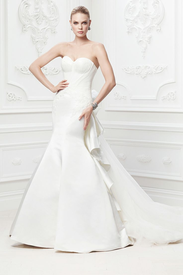 Truly Zac Posen for David's Bridal gown