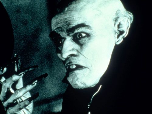 If Max Schreck from Nosferatu made the list, Dafoe  — who played Max Schreck in a 2000 movie about the method-acting-to-the-extreme making of Nosferatu — must as well, Woerner says.