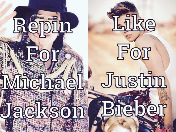 Please Read!!!  Okay So I don't get WHY even people make this!!!! I can meet Like 100 people who like JB and I won't judge them,why would I judge them?! Just for a little fight?! No!!! Okay,The reason I hate people who make these is because THEY know that there will ONLY BE 1 MICHAEL JACKSON!!! And there is NEVER EVER GONNA BE ANOTHER KING OF POP!!! Like people are SOOO F**king St*pid,Why are they comparing a Person to the King of Feaking Pop?!?! You can Hate me all you want just for these…